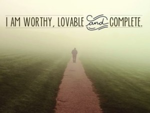 Inspirational Downloads (Worthy, Lovable and Complete)