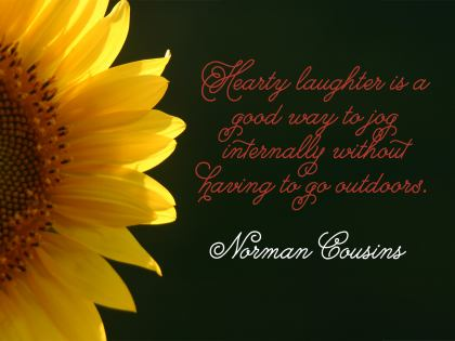Hearty Laughter - Norman Cousins