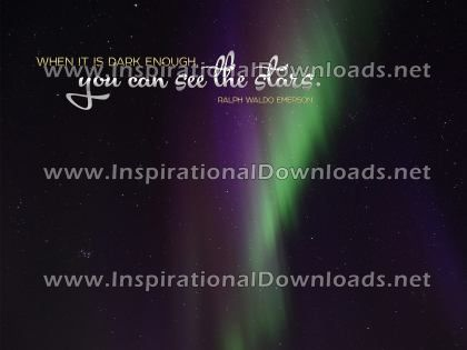 See The Stars by Ralph Waldo Emerson (Inspirational Downloads)