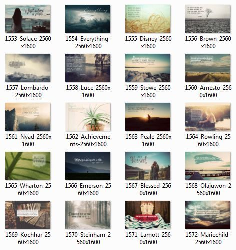 0916 Series Inspirational Quotes Posters (Inspirational Downloads)