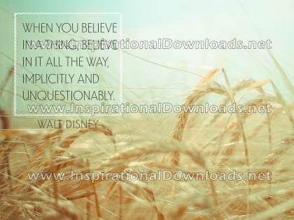 When You Believe by Walt Disney (Inspirational Downloads)