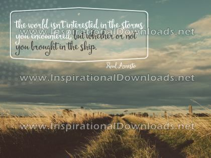 Storms You Encountered by Raul Arnesto (Inspirational Downloads)