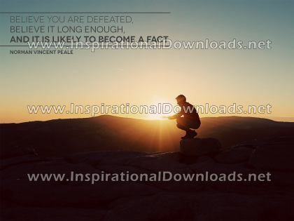 Believing by Norman Vincent Peale (Inspirational Downloads)
