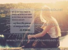 The Power We Have by J.K. Rowling (Inspirational Downloads)