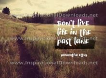 Past Lane by Samantha Ettus (Inspirational Downloads)