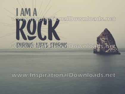 I Am A Rock by Positive Affirmation (Inspirational Downloads)