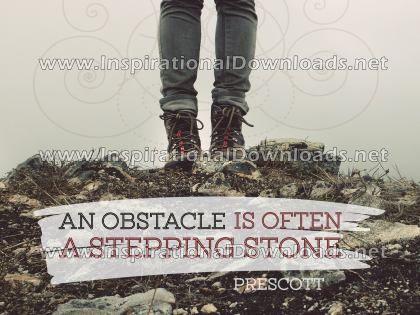 A Stepping Stone by William Prescott (Inspirational Downloads)