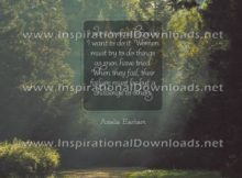 Do It by Amelia Earhart (Inspirational Downloads)
