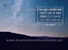 People Power by Alice Walker (Inspirational Downloads)