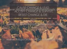 Change by Ray Norda (Inspirational Downloads)