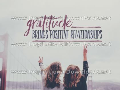 Gratitude And Relationships by Positive Affirmations (Inspirational Downloads)
