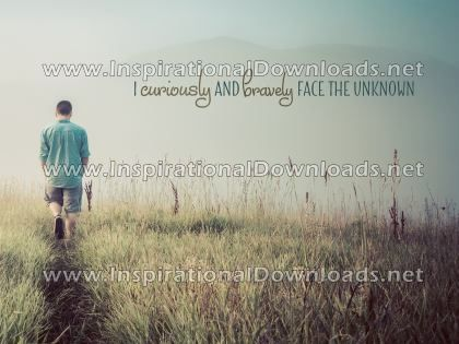 Face The Unknown by Positive Affirmations (Inspirational Downloads)