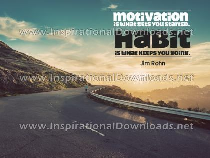 Motivation and Habit by Jim Rohn (Inspirational Downloads)