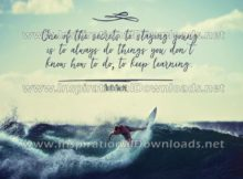 Secrets To Staying Young by Ruth Rechl (Inspirational Downloads)