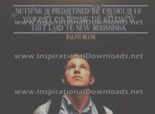 Gateway To New Beginnings by Ralph Blum (Inspirational Downloads)