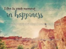 Live In Happiness by Positive Affirmations (Inspirational Downloads)