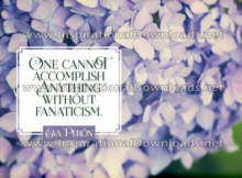 Accomplish Anything by Eva Peron (Inspirational Downloads)