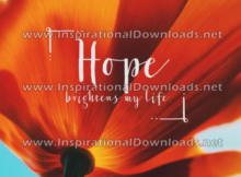 Hope Brightens My Life by Positive Affirmations (Inspirational Downloads)