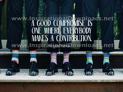 Good Compromise by Angela Merkel (Inspirational Downloads)