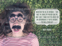 Be Different by Anita Roddick (Inspirational Downloads)