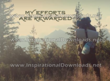 My Efforts Are Rewarded by Positive Affirmations (Inspirational Downloads)