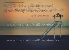Standing In Our Own Sunshine by Ralph Waldo Emerson (Inspirational Downloads)