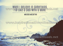 Believe in Something by Melissa McCarthy (Inspirational Downloads)