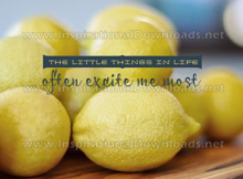 Little Things In Life by Positive Affirmations (Inspirational Downloads)