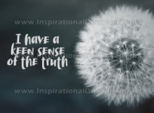 Keen Sense Of The Truth by Positive Affirmations (Inspirational Downloads)