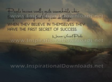 First Secret Of Success by Norman Vincent Peale (Inspirational Downloads)