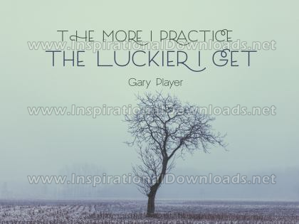 The More I Practice by Gary Player (Inspirational Downloads)