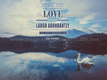 Live A Beautiful Life by Henry Drummond (Inspirational Downloads)
