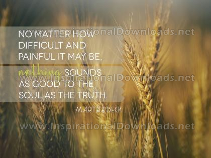 The Truth by Martha Beck (Inspirational Downloads)