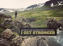I Get Stronger by Positive Affirmations (Inspirational Downloads)