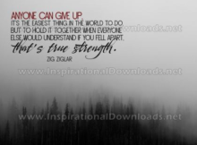 True Strength by Zig Ziglar (Inspirational Downloads)