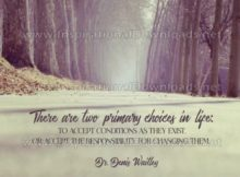 Primary Choices In Life by Dr. Denis Waitley (Inspirational Downloads)