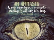 An Appeasar by Winston Churchill (Inspirational Downloads)