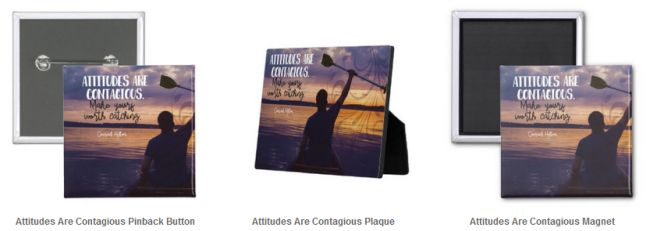 Inspirational Downloads Customized Products: Attitudes Are Contagious (Inspirational Downloads)