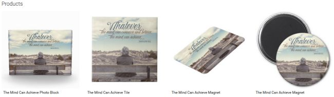 Inspirational Downloads Customized Products: The Mind Can Achieve Customized Products