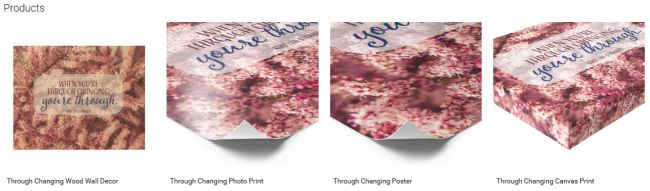 Inspirational Downloads Customized Products: Through Changing