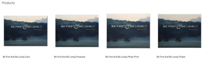 Inspirational Downloads Customized Products: Be First And Be Lonely