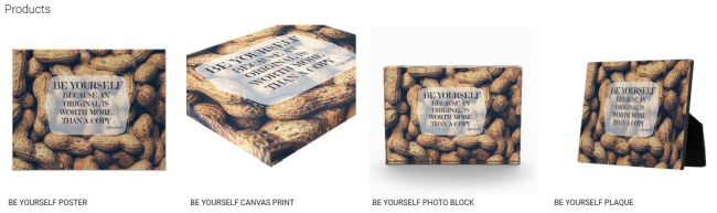 BE YOURSELF (Inspirational Downloads Customized Products)