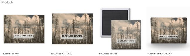 BOLDNESS (Inspirational Downloads Customized Products)