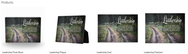 Leadership (Inspirational Downloads Customized Products)