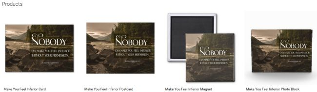 Make You Feel Inferior (Inspirational Downloads Customized Products)