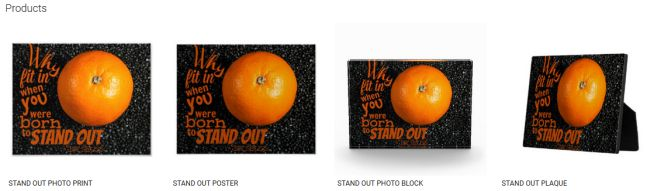 STAND OUT (Inspirational Downloads Customized Products)