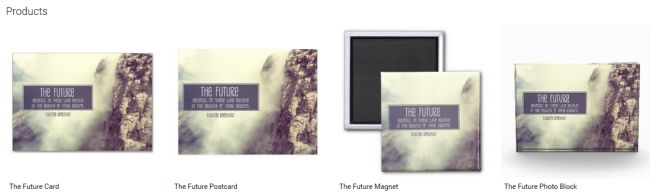 The Future (Inspirational Downloads Customized Products)