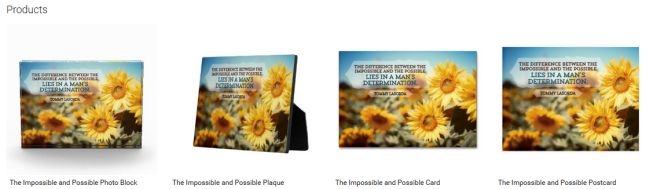 The Impossible And Possible (Inspirational Downloads Customized Products)