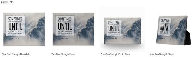 Your Own Strength (Inspirational Downloads Customized Products)