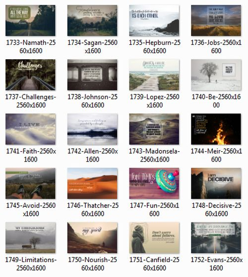 1706 Series Inspirational Quotes Posters (Inspirational Downloads)